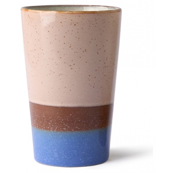 HKliving Ceramic 70's Tea mug sky