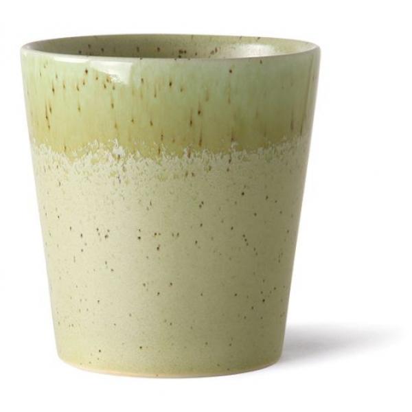 HKliving Ceramic 70's Coffee mug pistachio